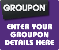 Enter your Groupon details here